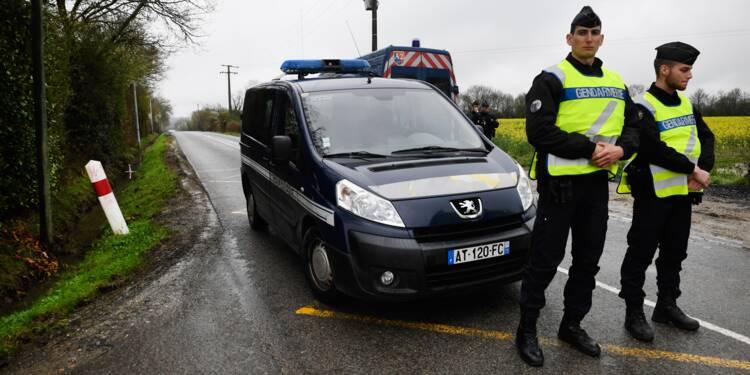 Six gendarmes blessés dans une