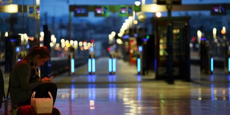Grève SNCF: un TGV sur 5 lundi, un Transilien et un TER sur 3, un Intercités sur 6