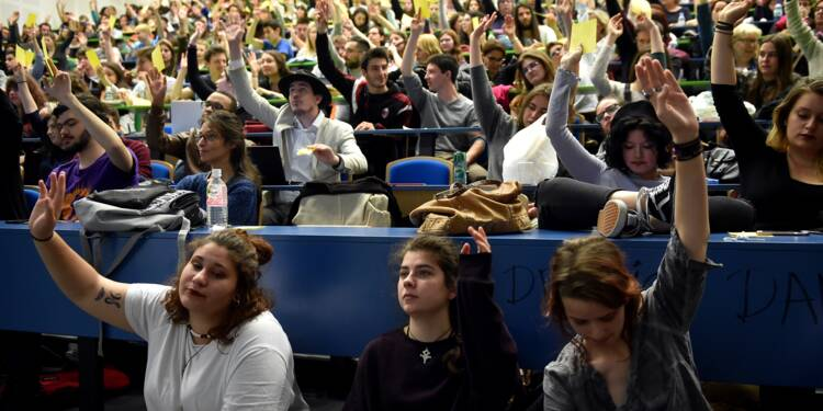 A Toulouse, les étudiants du Mirail ne baissent pas les bras