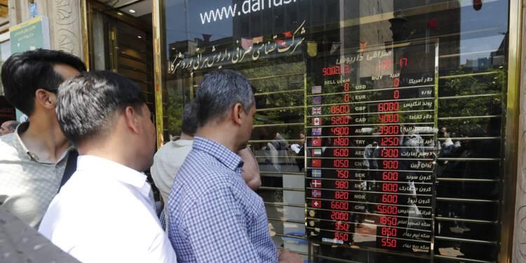 """A Téhéran, """"pas moyen de trouver des dollars"""""""