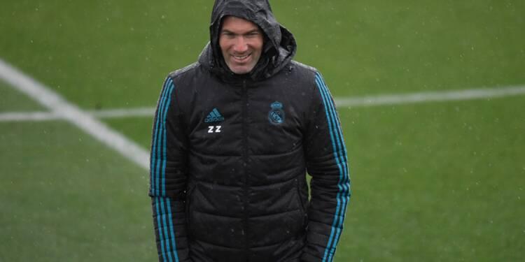 Ligue des champions: Zidane, le fardeau du favori pour Real-Juventus