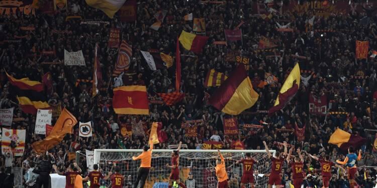 Ligue des Champions: de la folie Roma à la folle nuit romaine