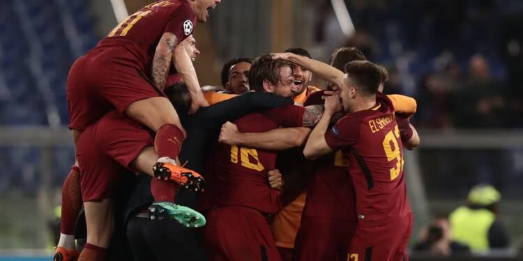Ligue des Champions: la Roma réussit l'impensable et renverse le Barça