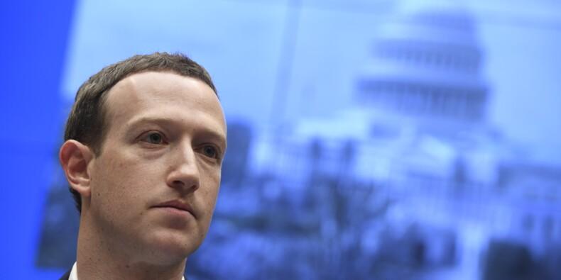 Facebook : au Congrès, Mark Zuckerberg s'excuse mais refuse de changer de modèle