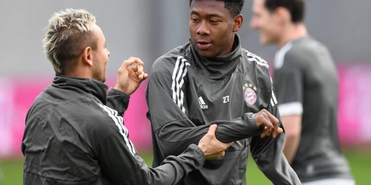 Ligue des champions: le Bayern Munich doit finir le travail contre Séville