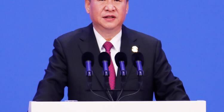 """Chine: les promesses d'ouverture de Xi """"sans lien"""" avec les tensions commerciales"""