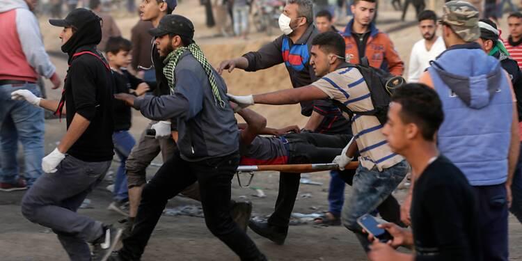 Nouvelles violences à la frontière entre Gaza et Israël, un Palestinien tué