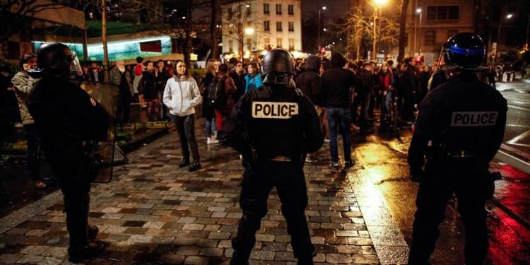 Réforme de l'université: intervention de la police à la Sorbonne