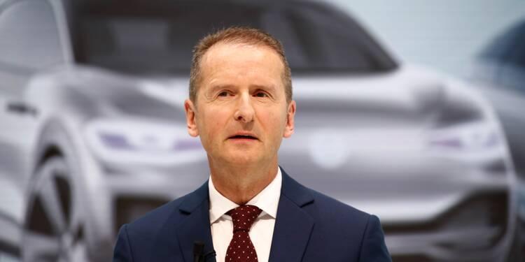 """Volkswagen : un nouveau patron pour faire face aux """"bouleversements"""""""