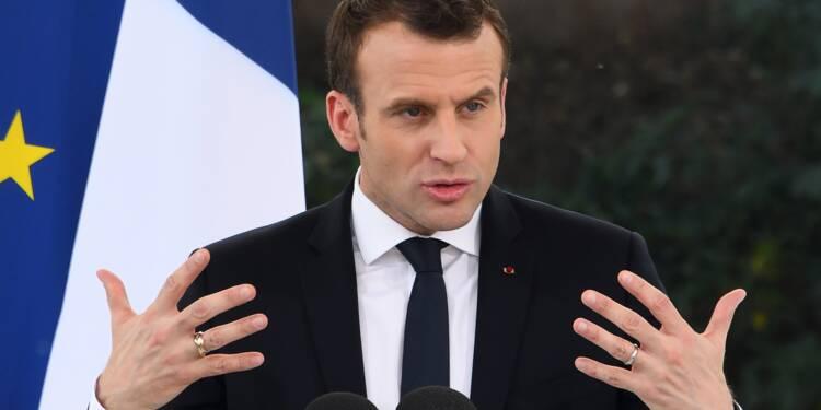 Un an de Macron: une popularité en dents de scie