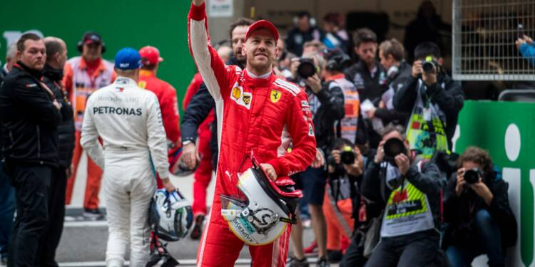 GP de Chine: Vettel (Ferrari) en pole, Hamilton (Mercedes) partira 4e