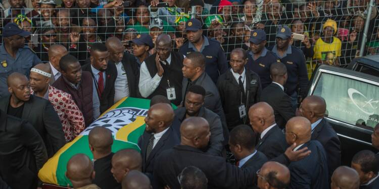 Dernier hommage à Winnie Mandela, l'égérie de la lutte anti-apartheid