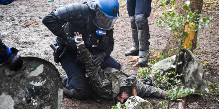 NDDL: Premiers affrontements sur la Zad avant le rassemblement des opposants