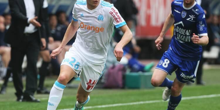 Ligue 1: Thauvin sauve l'OM à Troyes