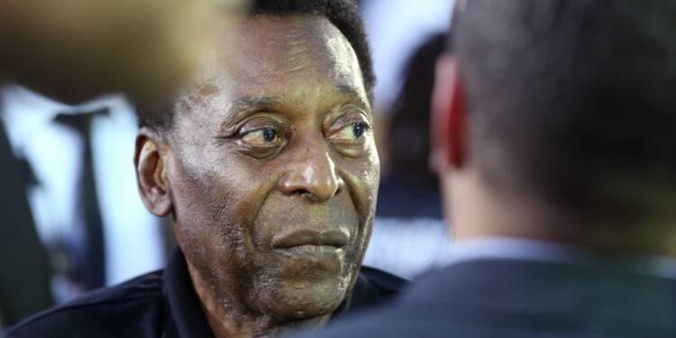 """""""Je vais bien mais je ne vais pas disputer le prochain Mondial"""", s'amuse Pelé"""