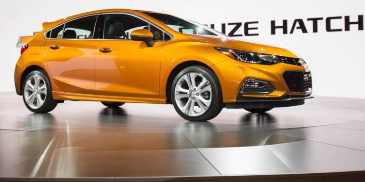 GM supprime 1.500 emplois aux Etats-Unis dans la production de petites voitures