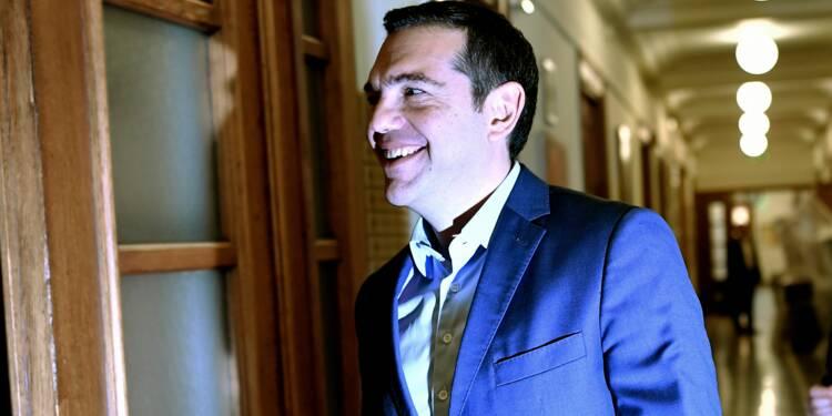 """Grèce: Tsipras se dit confiant quant à la fin de """"la tutelle"""" des créanciers"""