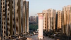 Chine: une cheminée à air pur tente de nettoyer l'atmosphère
