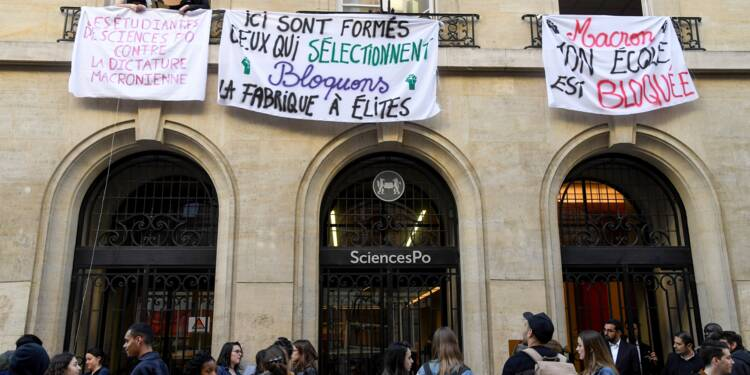 Universités: la protestation gagne Sciences Po, les occupants sommés de quitter les lieux à Montpellier