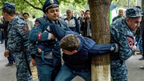 Arménie: près de 200 manifestants anti-Sarkissian interpellés