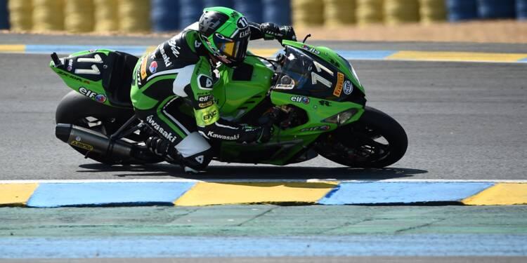 24 Heures Moto: 1re heure, la Kawasaki N.11 avec De Puniet en tête