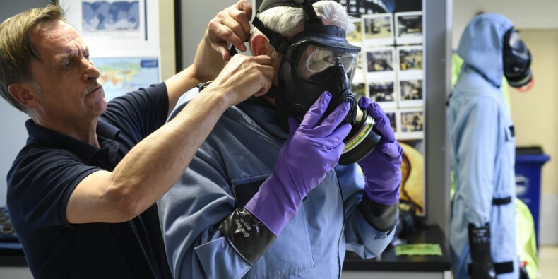 Armes chimiques: plongée au coeur du laboratoire de l'OIAC