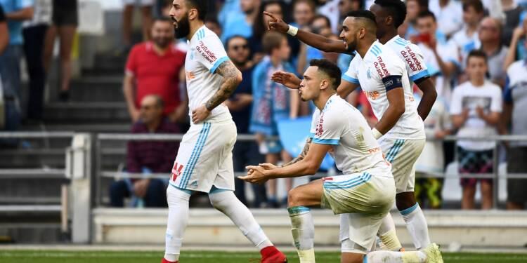 Ligue 1: Marseille euphorique, Lille pathétique