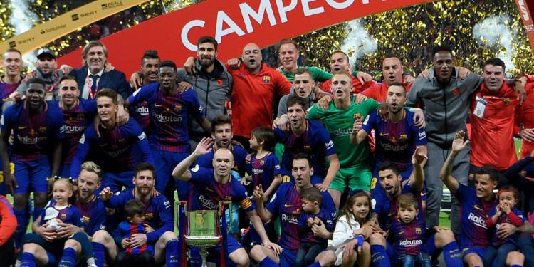 Coupe du Roi: trentième pour le Barça, dernière pour Iniesta