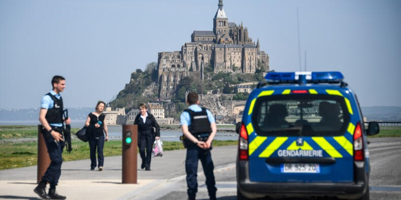 Le Mont-Saint-Michel évacué après des menaces proférées contre les forces de l'ordre