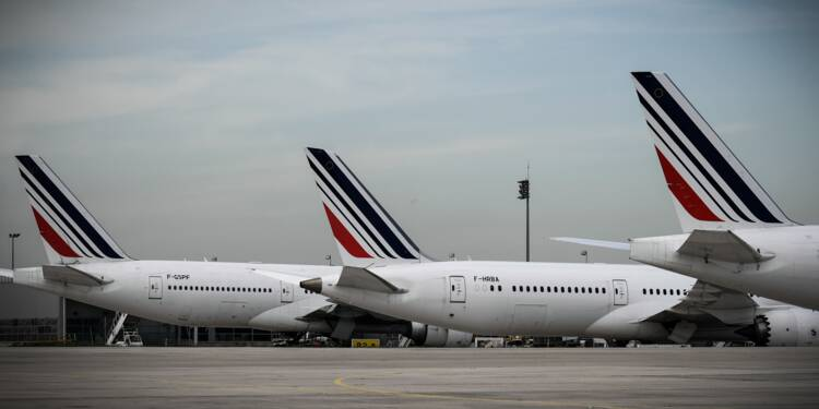 Grève à Air France et à la SNCF : les prévisions de lundi