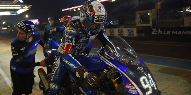 24 Heures Motos: la Yamaha N.94 chute et perd la tête