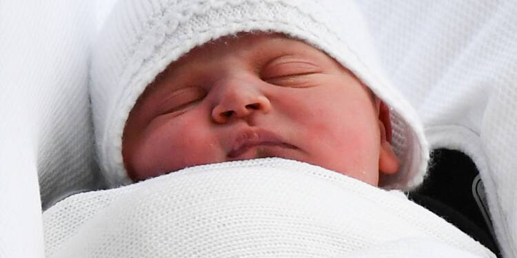 """""""C'est un garçon"""": naissance du troisième enfant du prince William et de son épouse"""