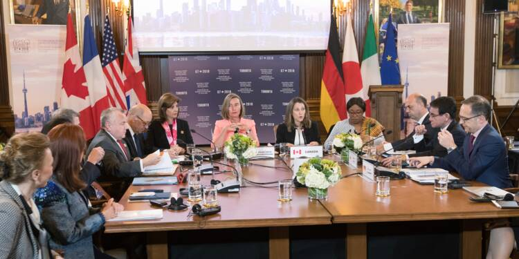 Le G7 uni face à la Russie, ferme sur la Corée du Nord mais divisé sur l'Iran