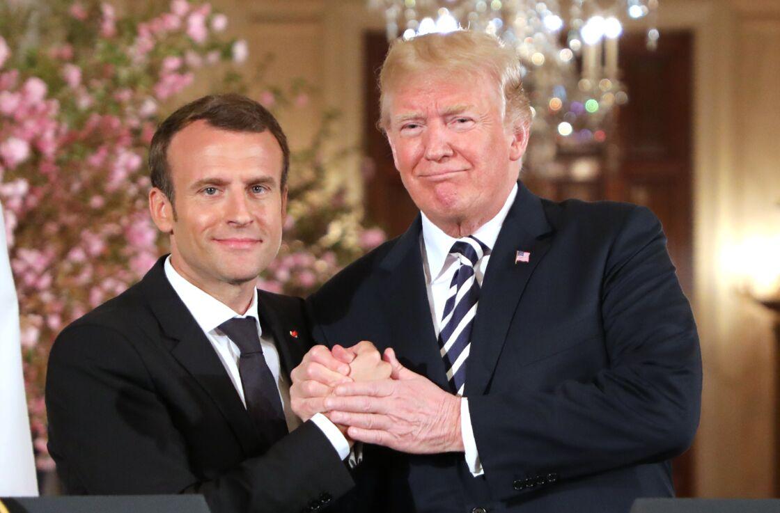 Avec L'iran Et Trump Un Nouvel Accord Macron Évoquent kiuOXTPZ