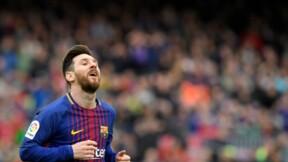 La star du FC Barcelone Messi gagne le droit d'enregistrer sa marque d'articles de sport