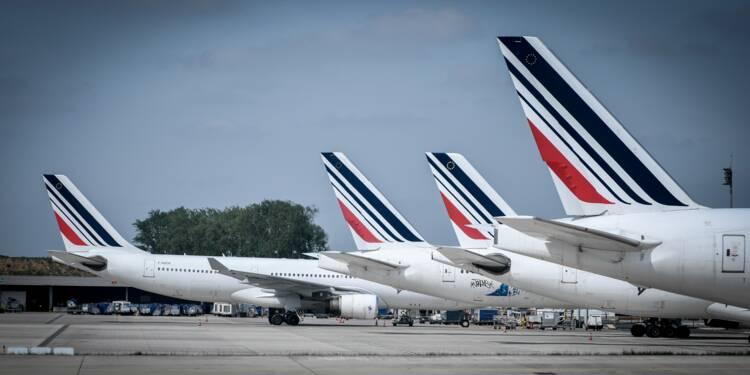 Grève Air France: le trafic s'améliore jeudi avec 85% des vols maintenus