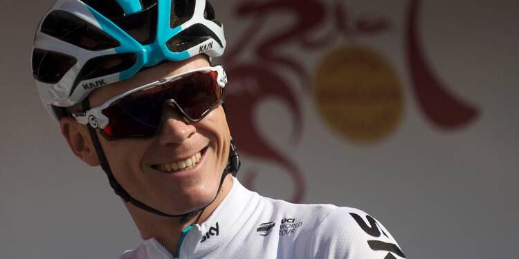 Tour d'Italie: Chris Froome leader de l'équipe Sky