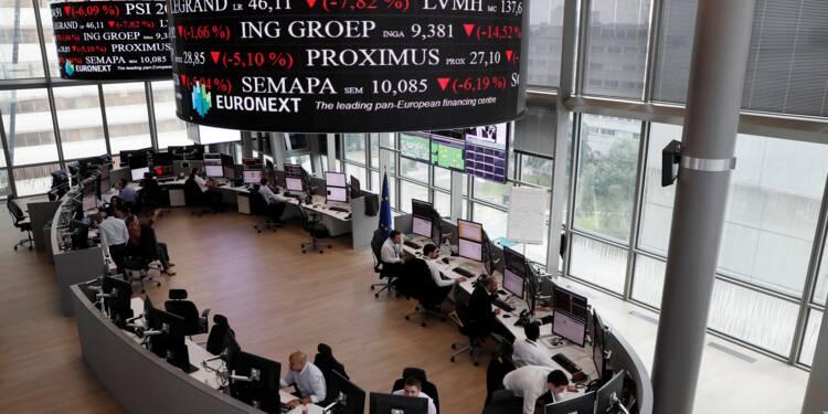 La Bourse de Paris stoppée dans sa course aux records par les incertitudes politiques