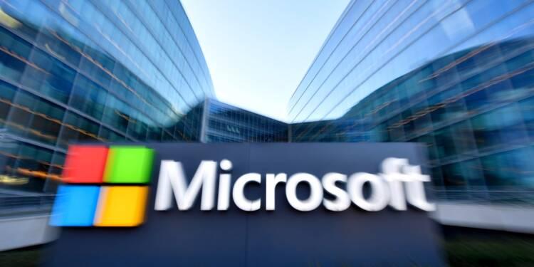 """Le """"cloud"""" toujours moteur de croissance pour Amazon et Microsoft"""