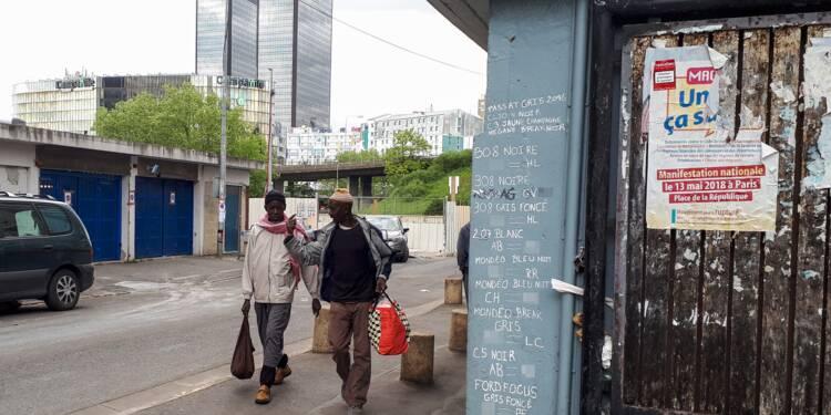 """Aux portes de Paris, le deal à ciel ouvert, des tirs et des habitants """"abandonnés"""""""