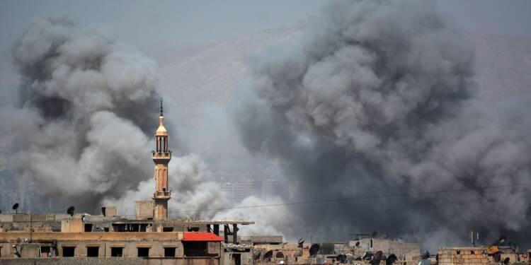 Syrie: combats intenses entre le régime et l'EI dans le sud de Damas