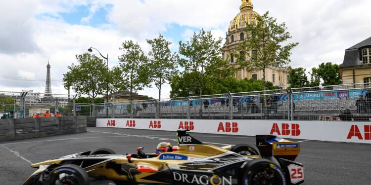 ePrix de Paris: Vergne en pole position à domicile