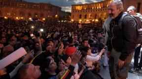 """Arménie: devant ses partisans, Pachinian se dit """"prêt"""" à devenir Premier ministre"""