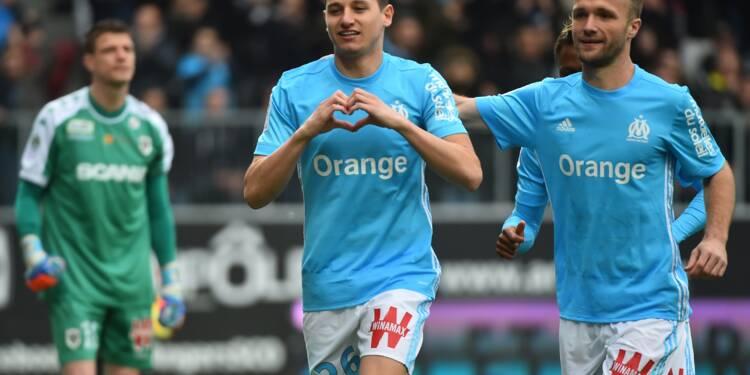 Ligue 1: Marseille rate la troisième marche à Angers