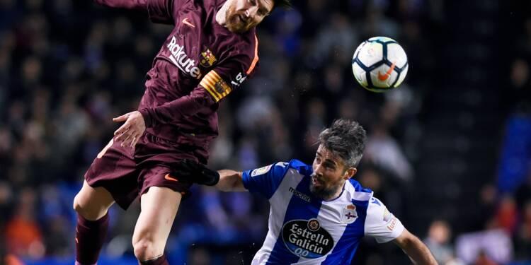 Espagne: le Barça sacré champion avec un triplé de Messi
