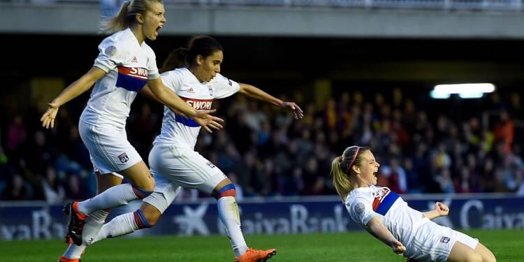 Ligue des champions dames: Lyon en quête de réalisme en demi-finales retour