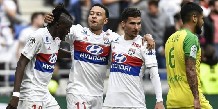 Ligue 1: Lyon dépasse Monaco sur fond de guérilla olympique