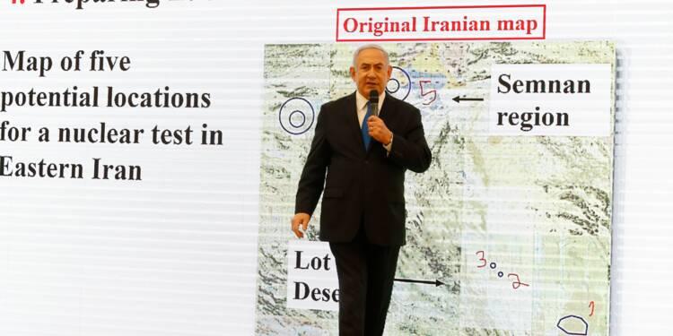 """Netanyahu: Israël a des """"preuves concluantes"""" d'un programme nucléaire iranien secret"""