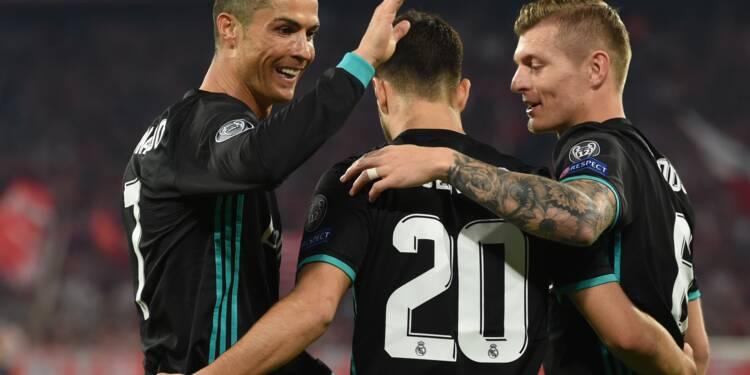 Ligue des champions: Real-Bayern, la marche la plus haute