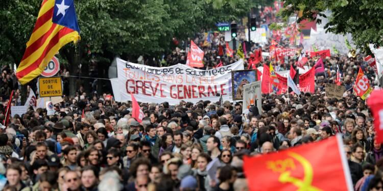 1er Mai: les manifestations ont rassemblé entre 143.500 et 210.000 personnes